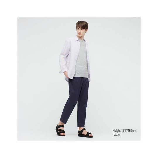 Celana Jeans Relaxed Ankle Pants 01