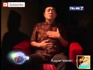 TIP MENGHILANGKAN GANGGUAN JIN DAN SIHIR DENGAN RUKYAH MANDIRI
