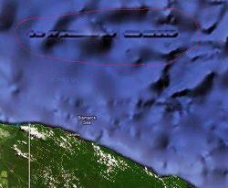 penemuan tembolok lurus dibawa laut