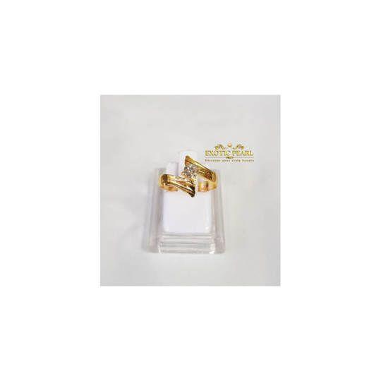 Cincin Emas Berlian Eropa Cantik Harga Terjangkau
