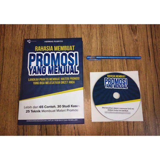 Buku Rahasia Membuat Promosi Yg Menjual