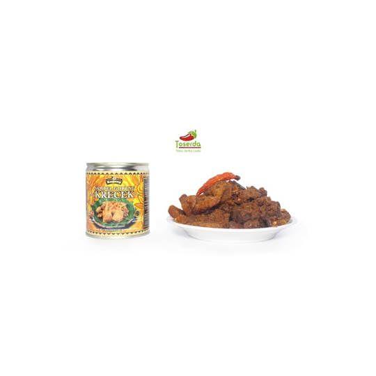 Paket 2pcs Gudeg bagong sambal goreng krecek kaleng khas jogja