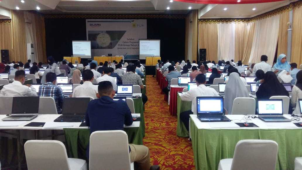 Recuitment PT PLN PERSERO DI HOTEL CONVETION HALL