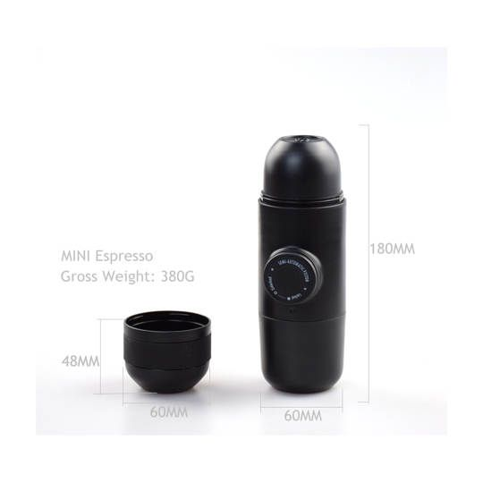 Mini Espresso Maker for Outdoor Travelling