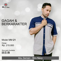 Model MM21 - Gagah Berkarakter