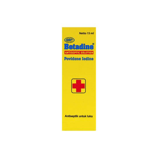 Betadine Solution 15ml