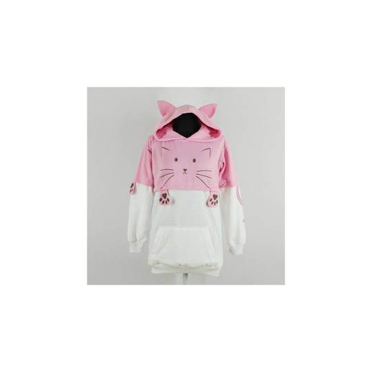 JAKET SWEATER HARAJUKU CAT