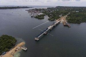 Hubungkan Pulau Yamdena dan Pulau Larat, Pemerintah Bangun Jembatan Wear Arafura