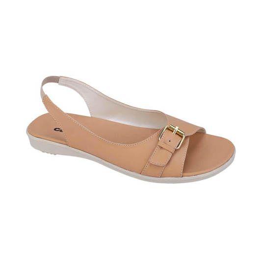 Sandal flat | sandal terbaru | sandal wanita terbaru | Catenzo | Asli 18329