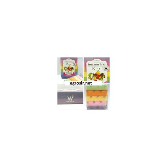 Fruitamin Soap 10in1 by Wink WHite / Original Thailand / Sabun Pemutih Fruitamin Soap 10in1 by Wink WHite / Original Thailand / Sabun Pemutih