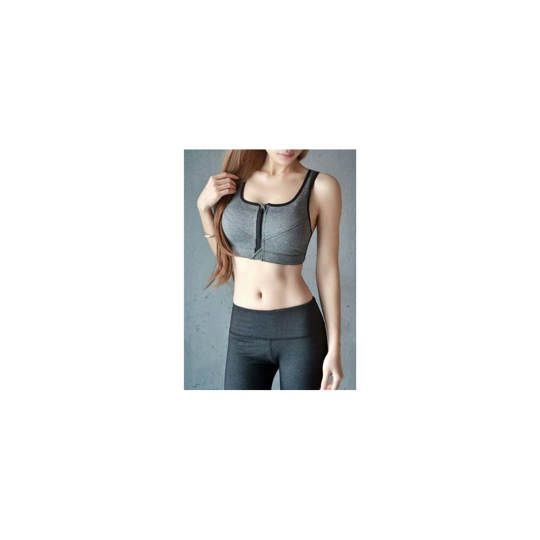SPORT BRA RESLETING ZIPPER / RESLETING DEPAN