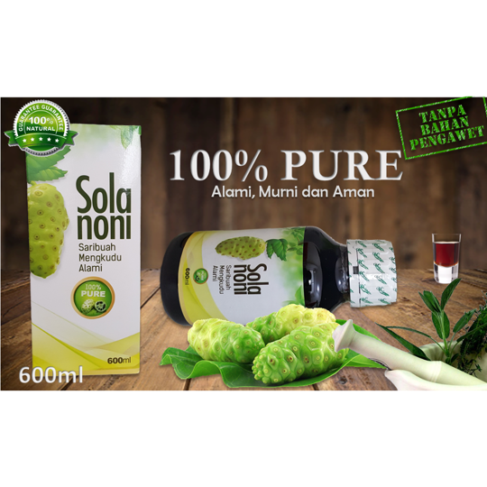 Solanoni 100% Natural Pure Juice