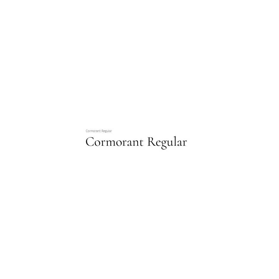 Cormorant - Chatarsis