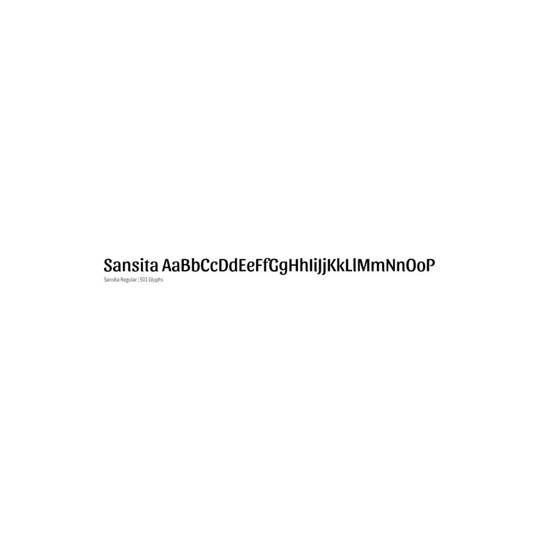 Sansita - Omnibus Type