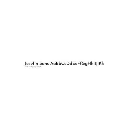 Josefin - Typemade
