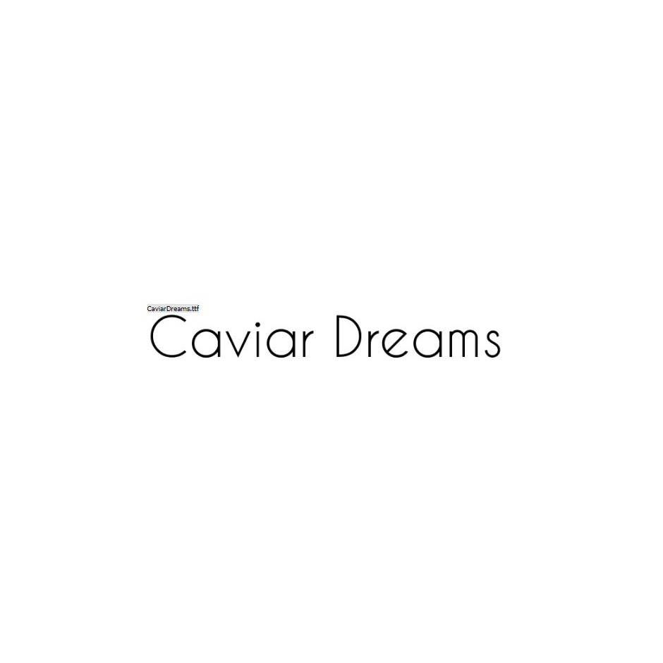 Caviar Dreams - Lauren Thompson