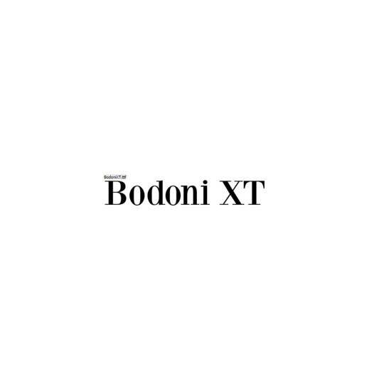 Bodoni XT - Manfred Klein