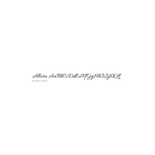 Allura - TypeSETit