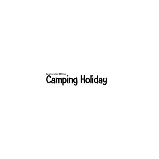 Camping Holiday - Hanoded