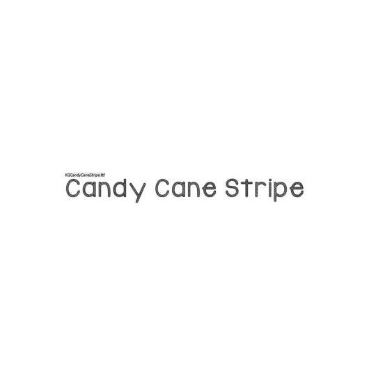 KG Candy Cane Stripe - Kimberly Geswein