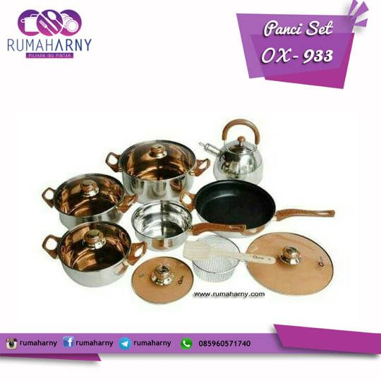 Panci OX-933 Oxone Eco Cookware Set