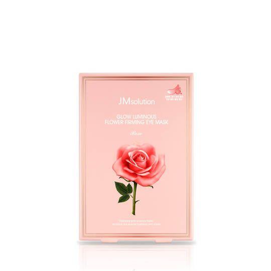 Glow Luminous Flower Firming Eye Mask Rose 1 Pack (10 Lembar)
