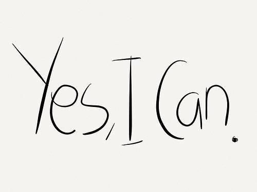 Yes I Can-Attitude