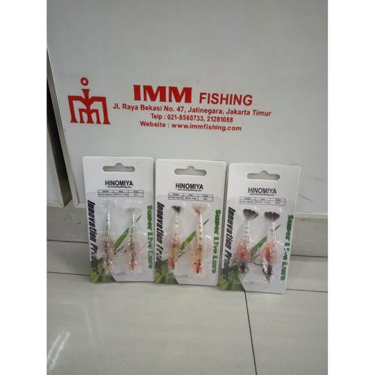 Udang hinomiya soft lure KIT02134B 80mm/3.5gr
