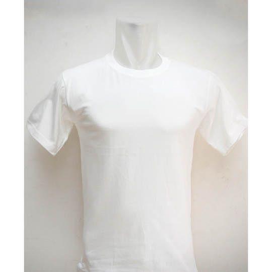 Kaos Polos Putih GROSIR