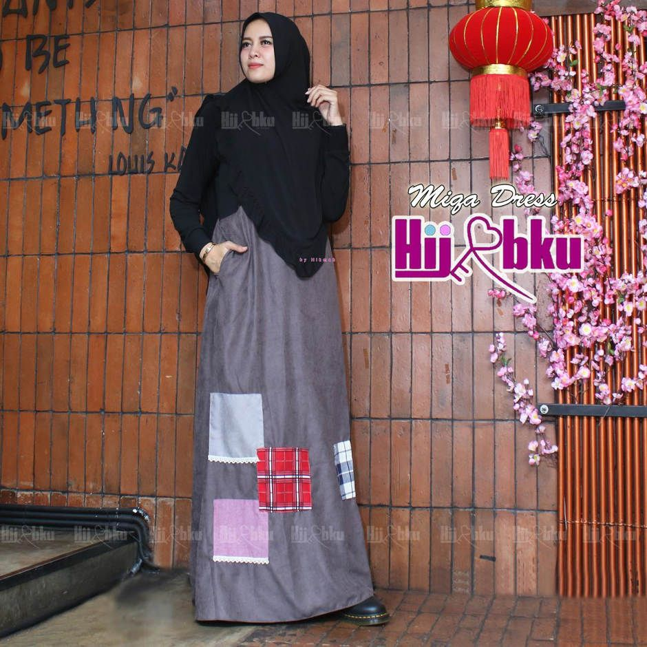MIQA DRESS ORIGINAL HIJABKU