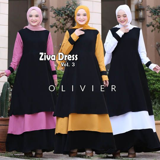 DRESS ZIVA ORIGINAL BY OLIVIER
