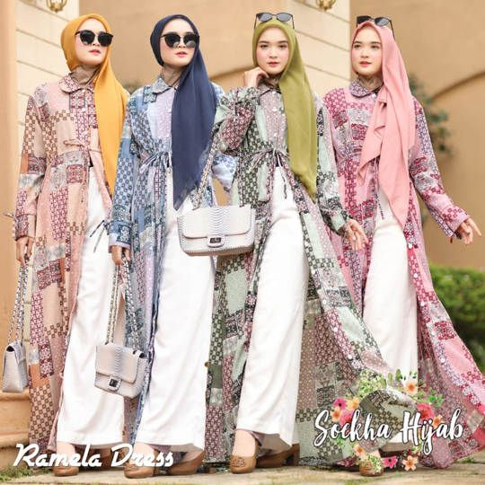 DRESS RAMELA ORIGINAL BY SOEKHA HIJAB