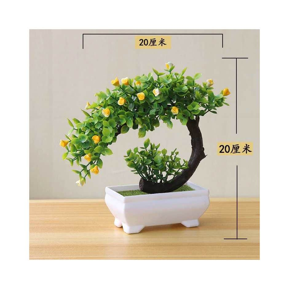 Fleur Tanaman Artificial Plants Decoration Bonsai - JM10