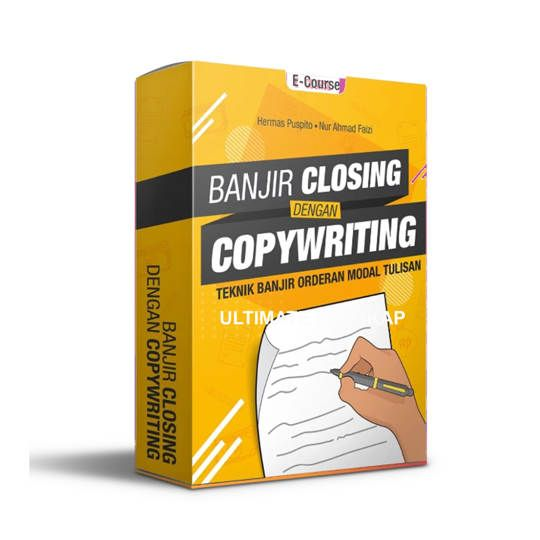 Banjir Closing Dengan Copywritting - E-Course