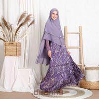 Aura Purple Set Syar'i