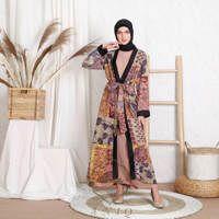 Outer Kimono by Deenha Warna Coklat
