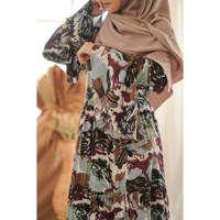 Khansa Green Daily Dress from Deenha's Collection