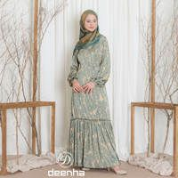 Aura Dress Green