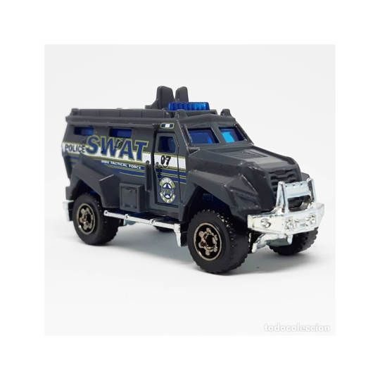 Miniatur Mobil Diecast Polisi DENSUS SWAT AS Blue Rear Door