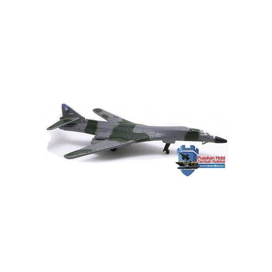 Miniatur Pesawat Militer Pembom B-1B Lancer (No Base)
