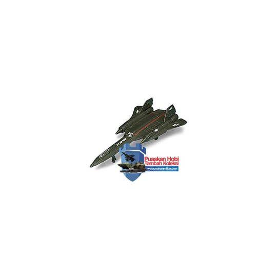Miniatur Pesawat Militer Pengintai SR-71 Blackbird