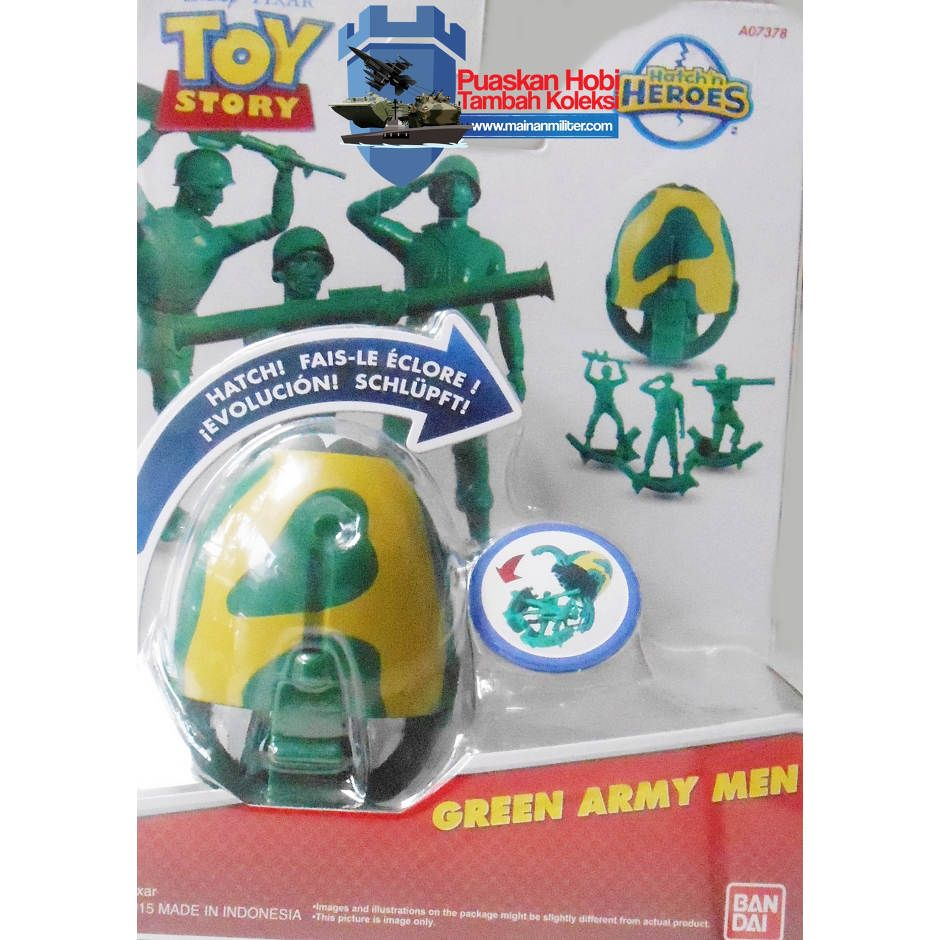 Mainan Toy Story Tentara Hijau Green Army Men