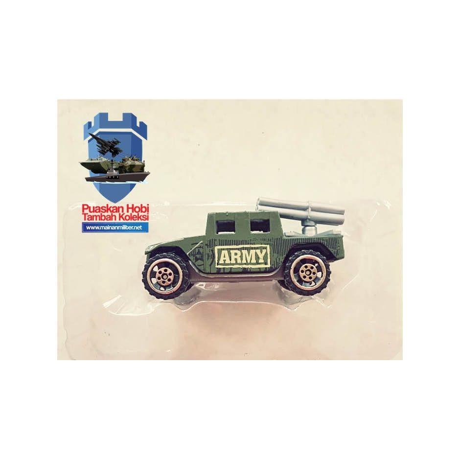 Miniatur Humvee Peluncur Roket