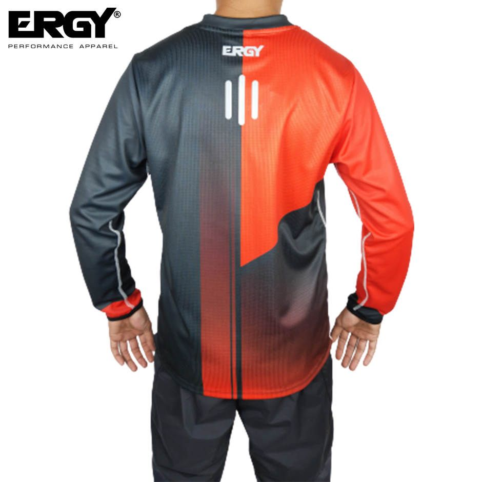 JERSEY SEPEDA DH I-ICE RED