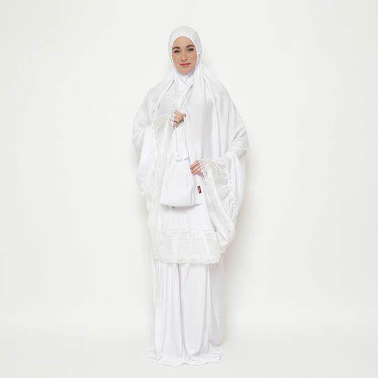 Tatuis Mukena Tiara 424 White Bluis