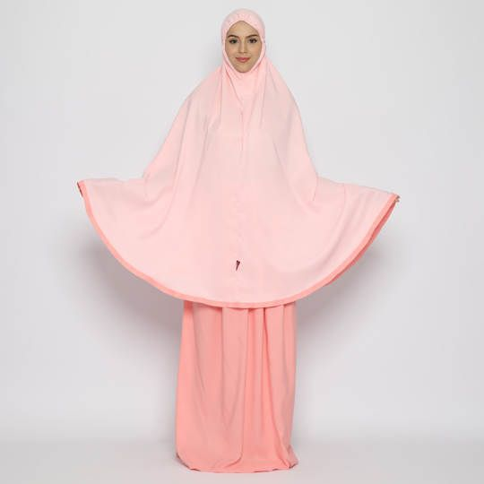 Tatuis Mukena Tiara 471 Pink Syari Young Series