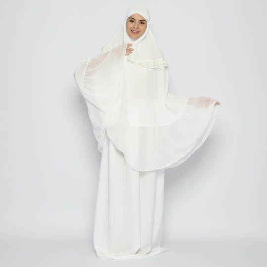 Tatuis Mukena Tiara 466 White Modesty Series