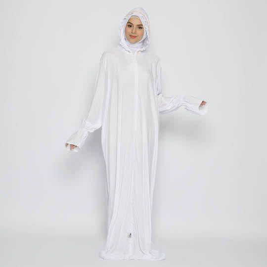 Tatuis Mukena Tiara 477 White Modesty Series Abu Dhabi Style