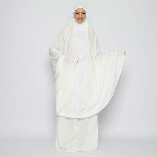Tatuis Mukena Tiara 478 Broken White Syari Modesty Series