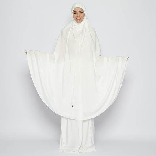 Tatuis Mukena Tiara 480 Broken White Syari Modesty Series